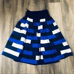 PRADA high waisted A-line skirt 38